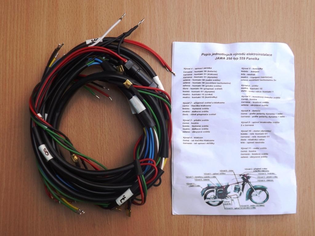 Elektroinstalace Mototechnik Cz Nahradni Dily Jawa Cz Simson
